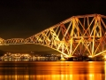 Forth Railway Bridge Night