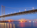 Forth Bridges Twilight