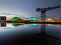 Glasgow River Clyde Reflections