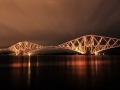 Forth Rail Bridge Night