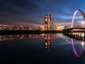 Glasgow Clyde Arc Reflection