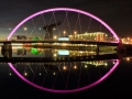 Clyde Arc Bridge Reflection