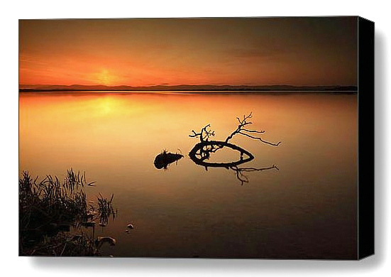 """A beautiful Sunset from the shores of Loch Leven in Perthshire and Kinross, Scotland. <br><a href=""""http://shop.photo4me.com/picture.aspx?id=267511&f=canvas""""><FONT COLOR=""""f59042"""">Buy Print or Canvas</FONT><a/> <a href=""""http://shop.photo4me.com/picture.aspx?id=267511&f=canvas""""><img src=""""http://www.photoscotland.net/captionpic/p4me.jpg"""" ><a/>"""