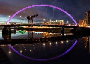 Clyde Arc Twilight