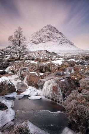 Glencoe Winter Scenery