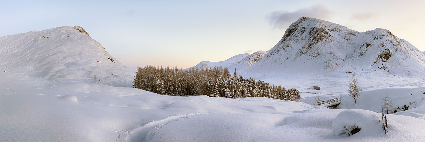 Glencoe Winter Landscape