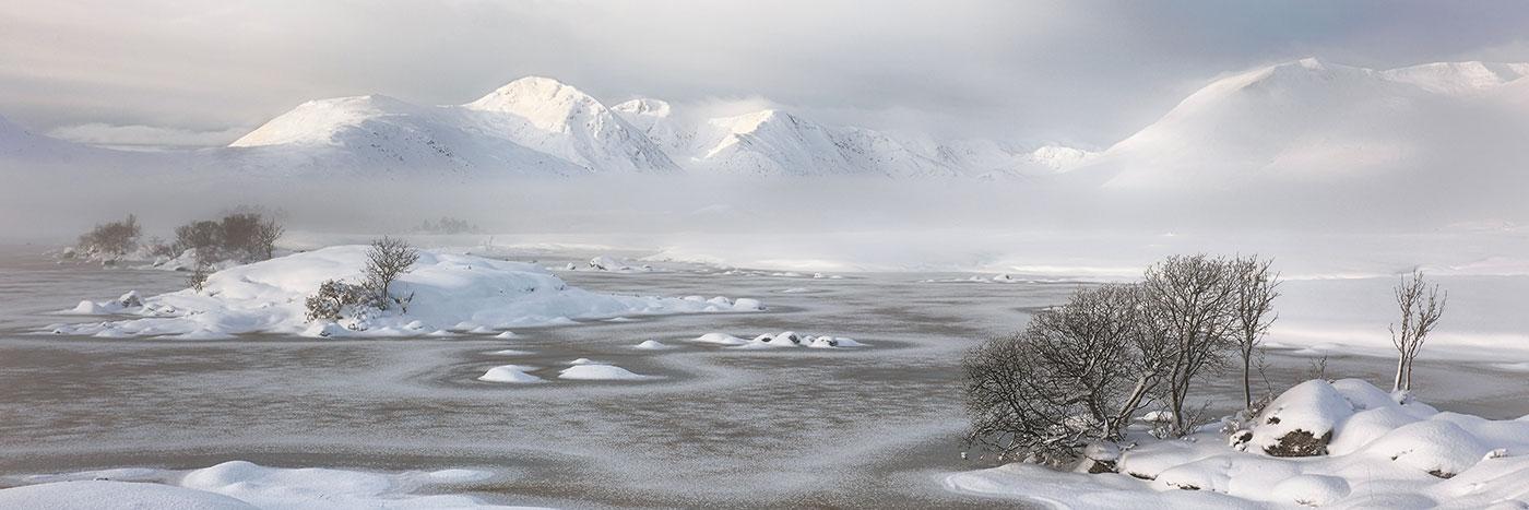 Glencoe Winter Scenery