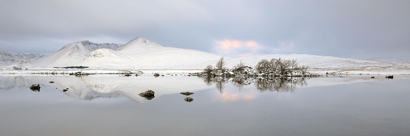 Glencoe Winter Sunrise - Blackmount