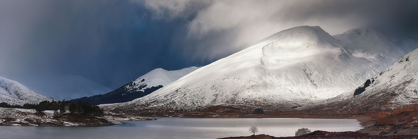 Loch Clunie Winter
