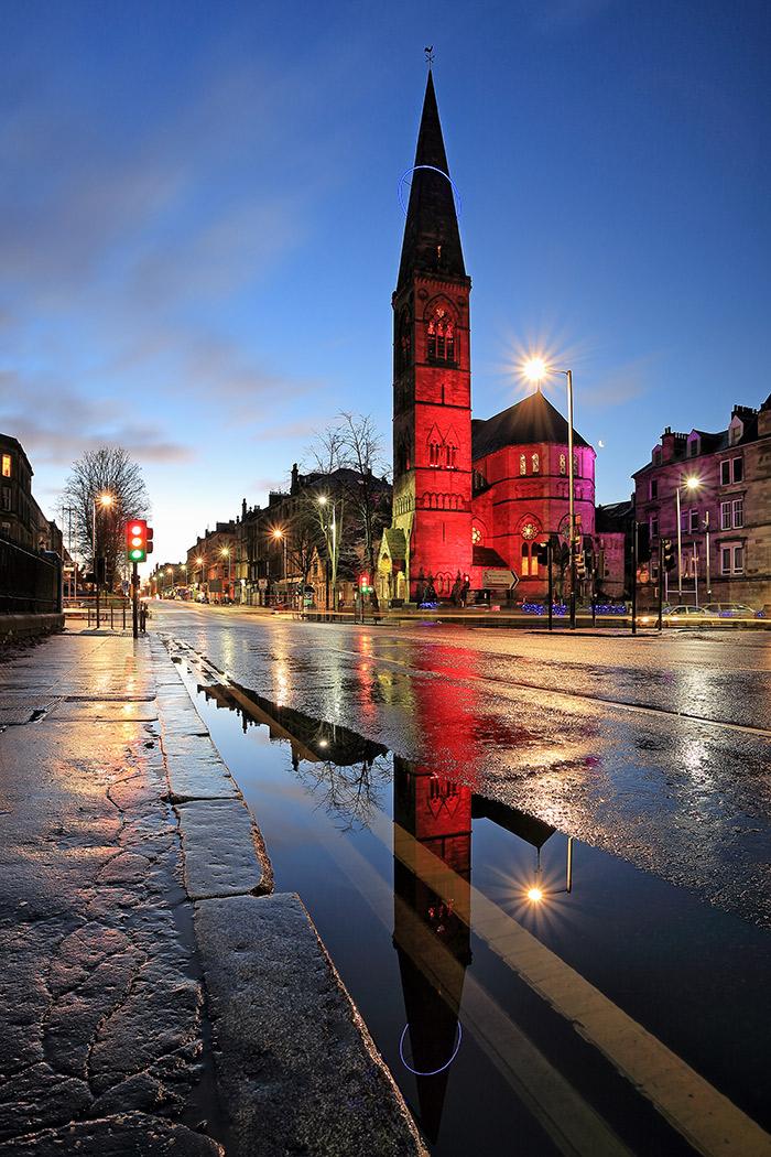 Glasgow Oran Mor Twilight