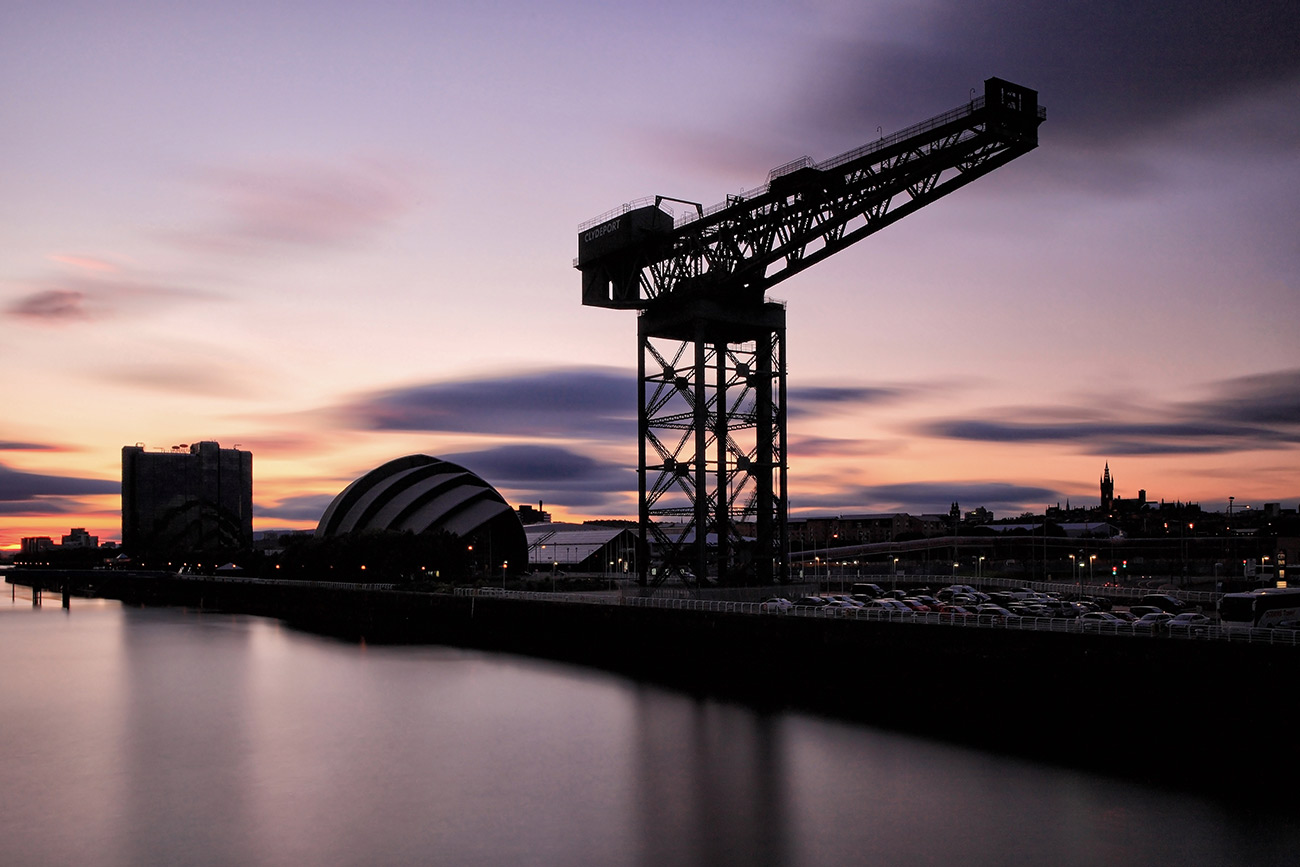 River-clyde-sunset
