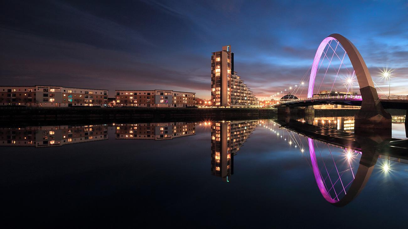 Glasgow Clyde Arc Reflection