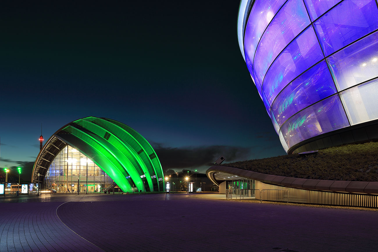 Clyde Auditorium and Hydro Arena