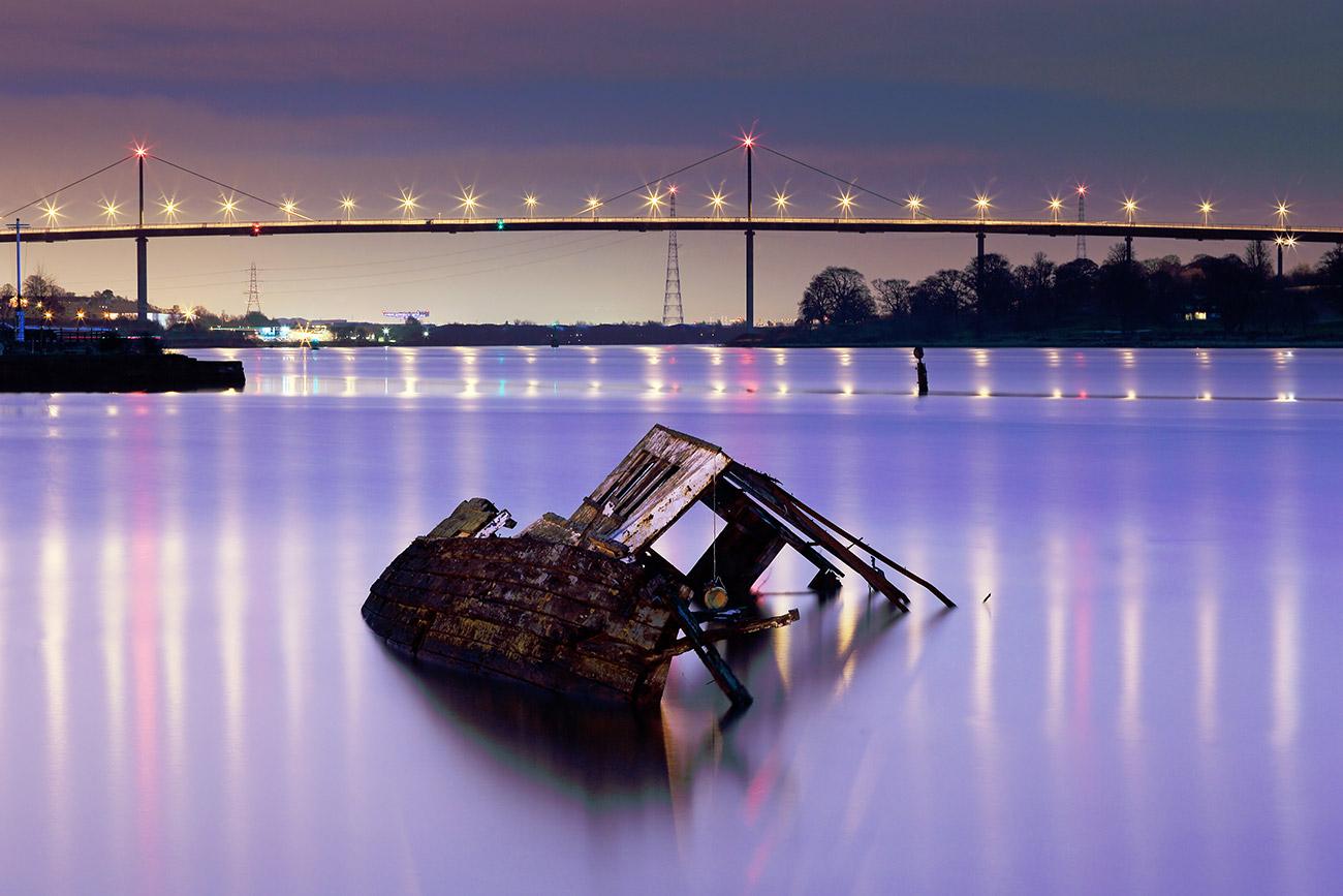 Bowling harbour shipwreck