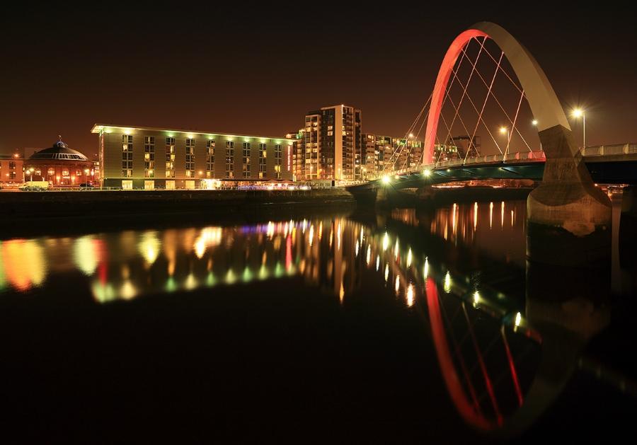 Glasgow Clyde Arc Bridge