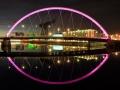 Clyde Arc Bridge Reflection