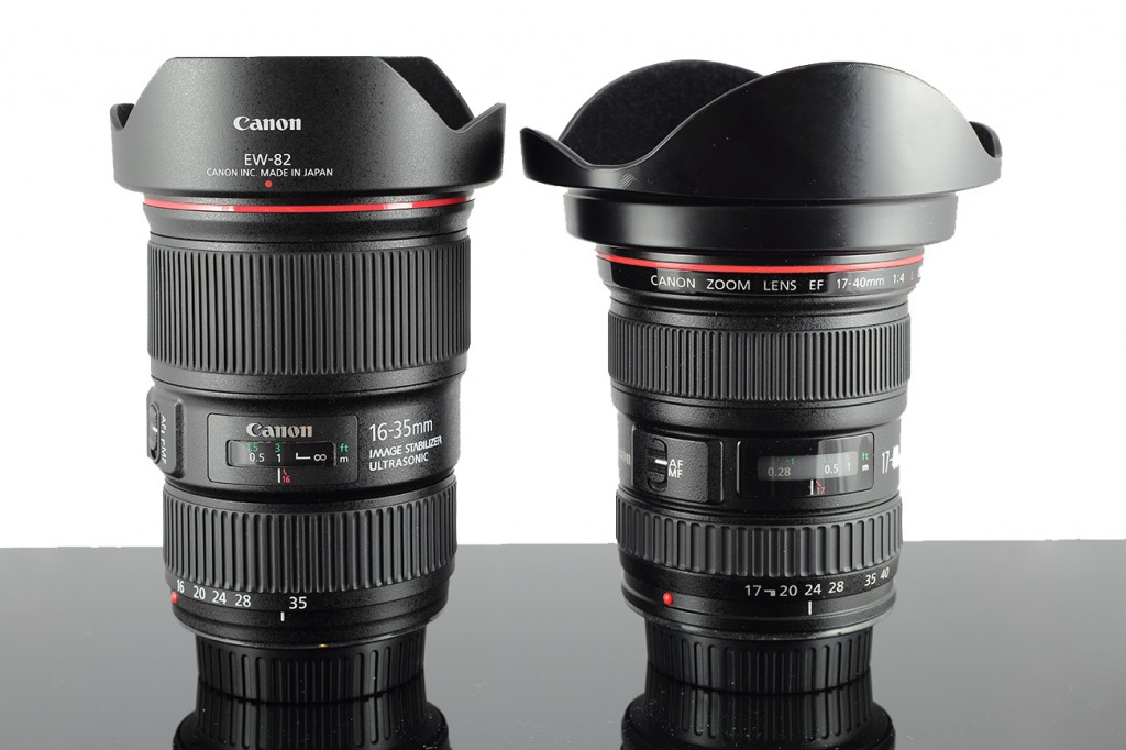 Canon 16-35mm f4.0 IS L and Canon-17-40mm f4.0 L. © Photoscotland.net 2011. Do not use without permission